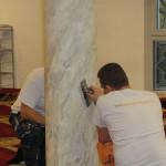 2-Muszlin-Mecset-oszlopok-márványozása