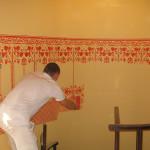 3-dombormintás-tapéta-festése